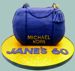 Michael Kors Handbag Cake