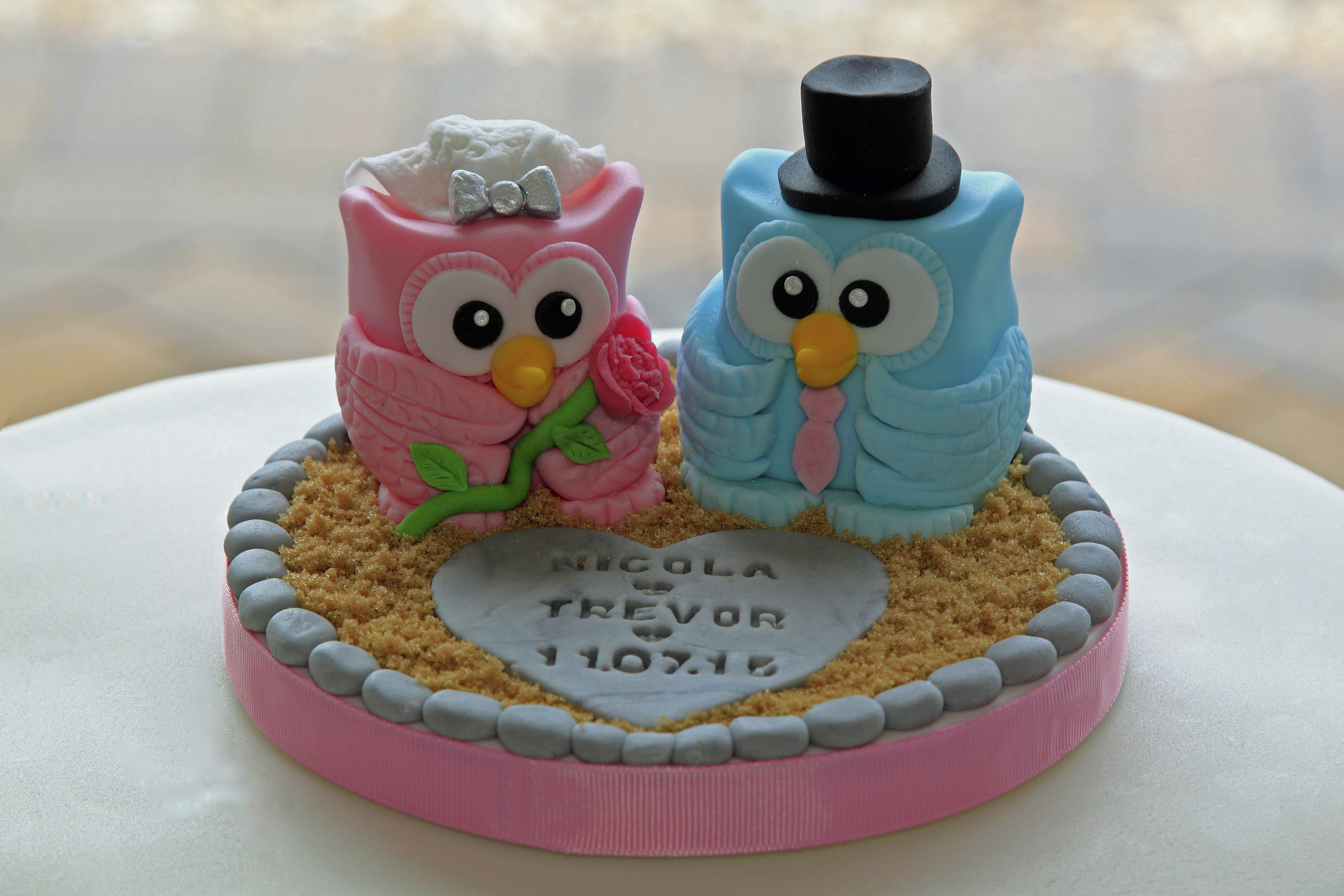 Pair of Owls Cake