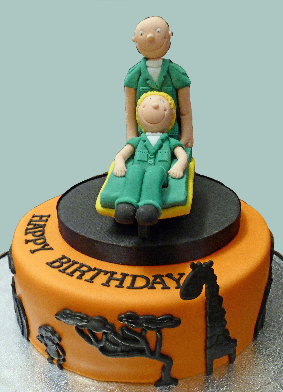 Paramedic Zambulance Cake