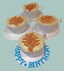 Latte Cupcakes