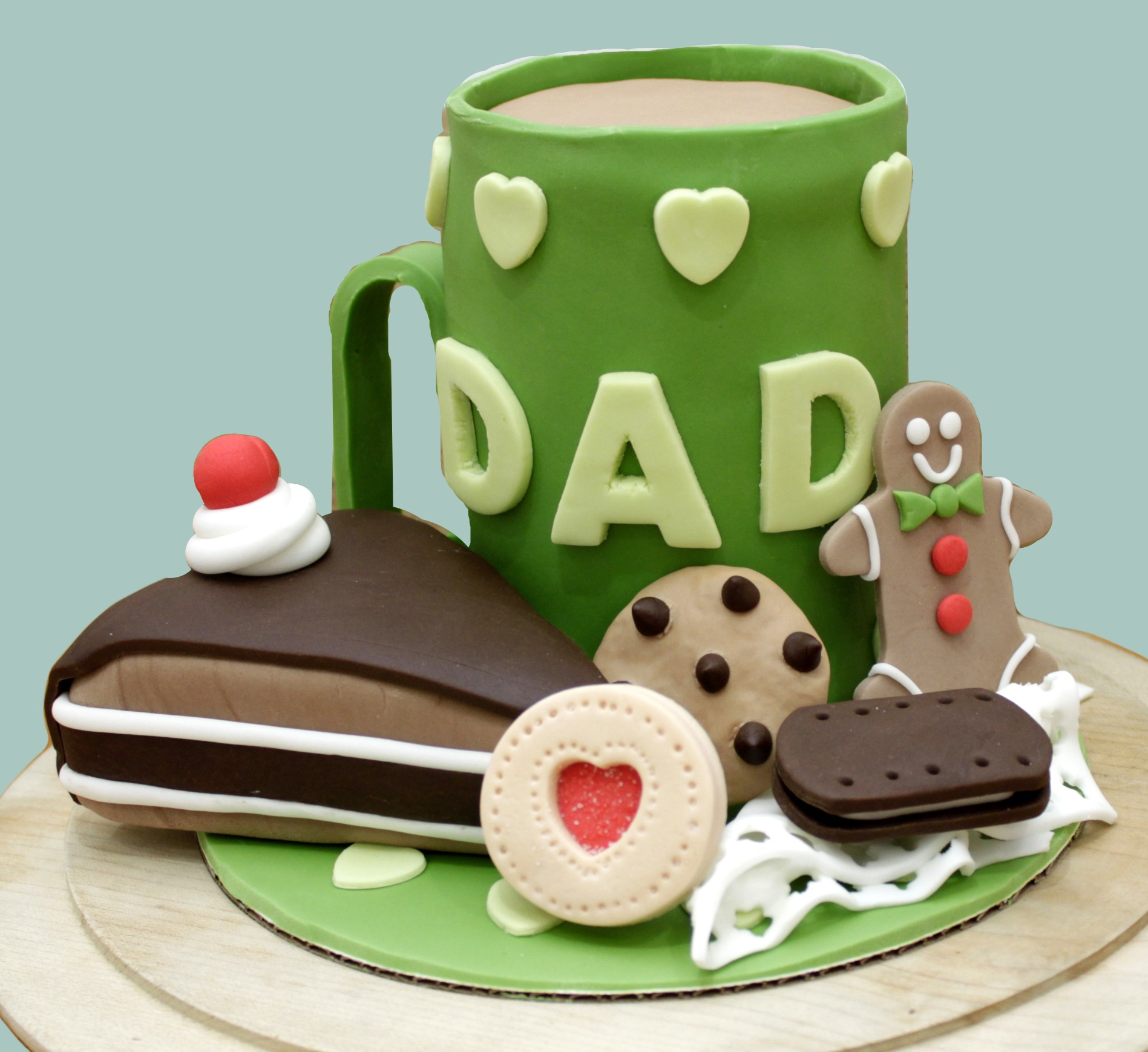 Dad Mug & Treats Cake