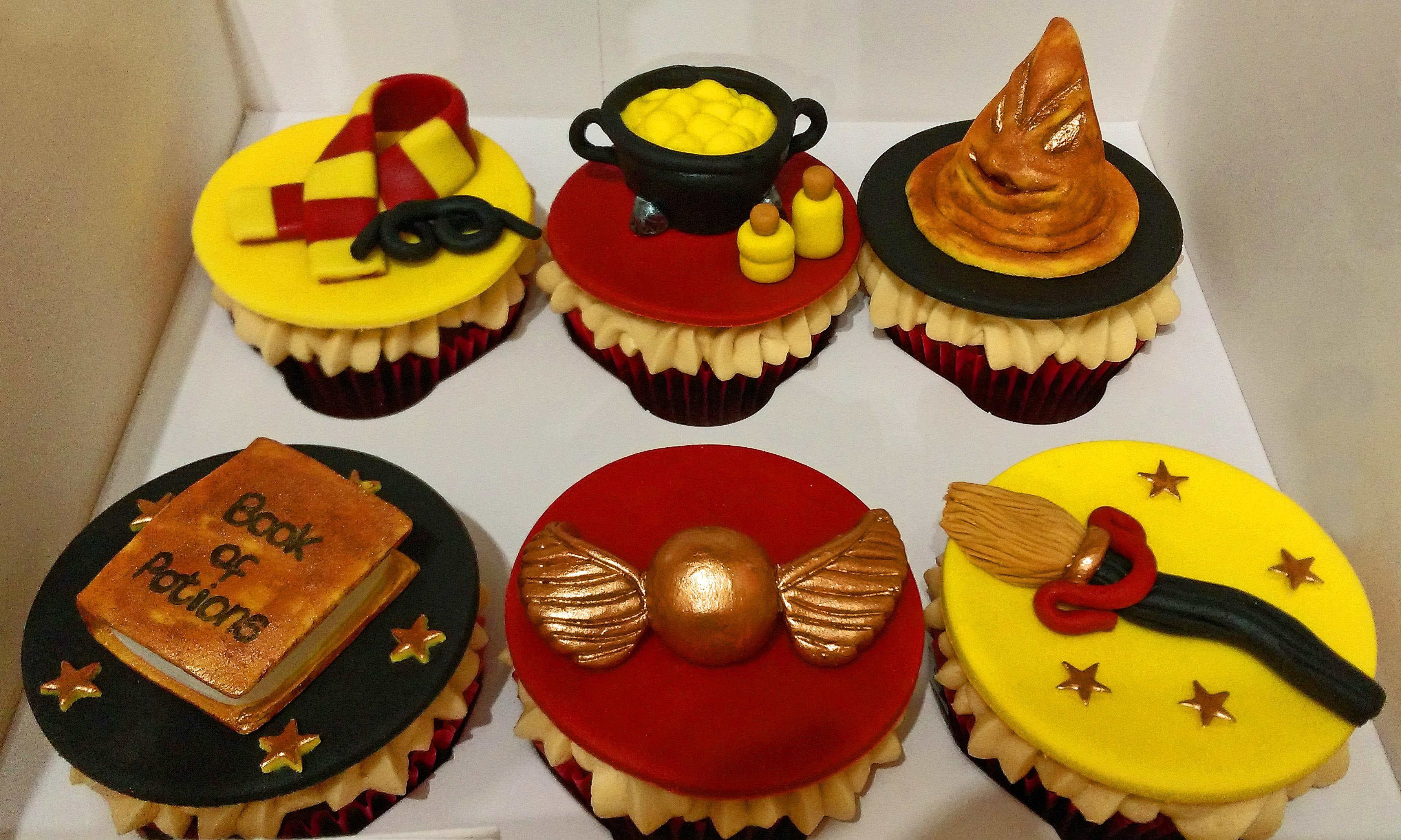 Harry Potter Birthday Cupcakes 2