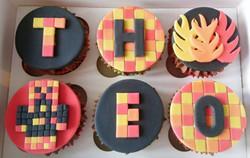 PrestonPlayz Themed Cupcakes