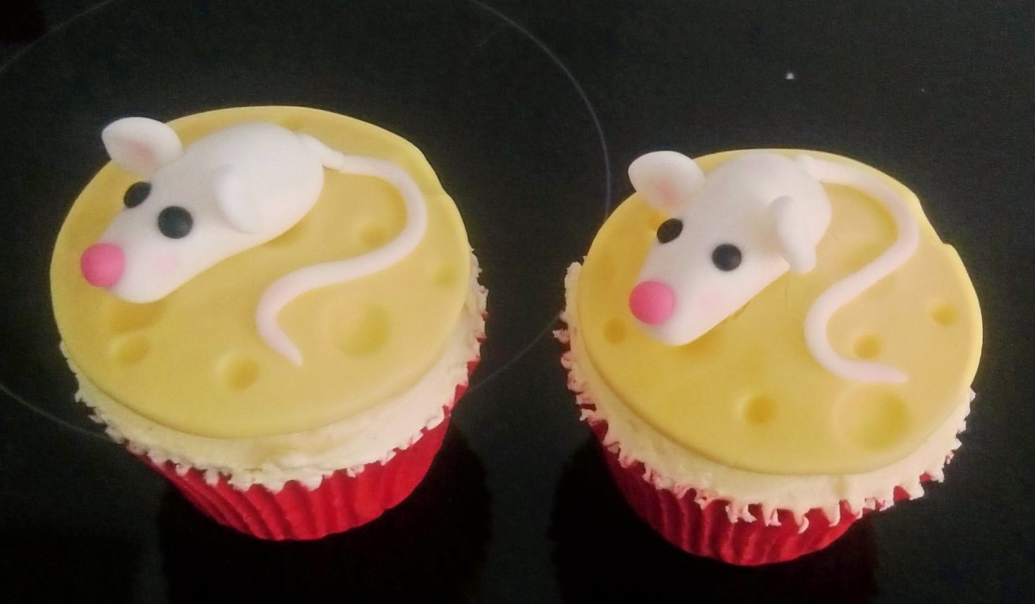 Mice & Cheese Cupcakes