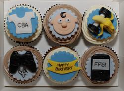 Favourite Things Birthday Cupcakes