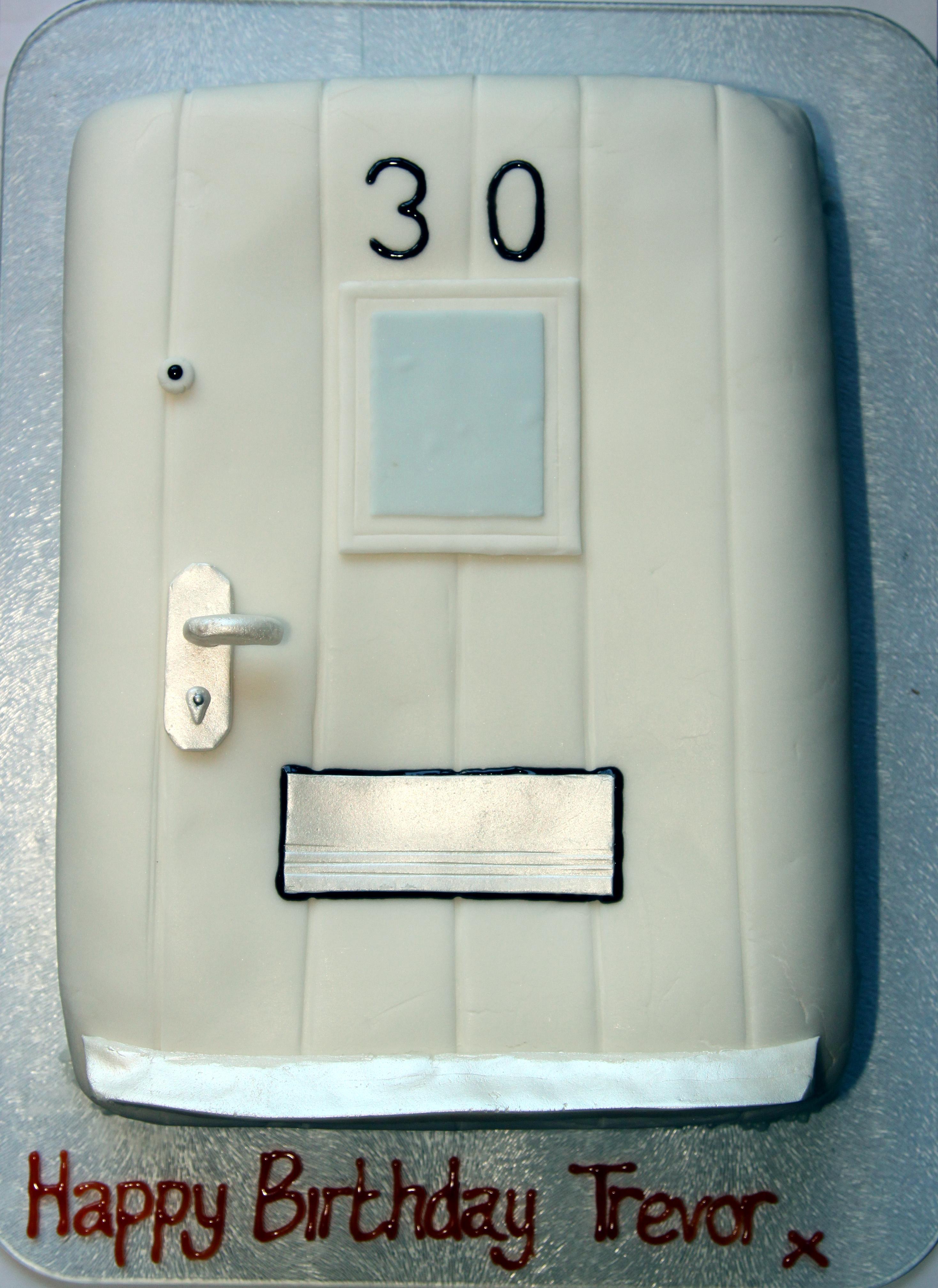 Front Door Cake