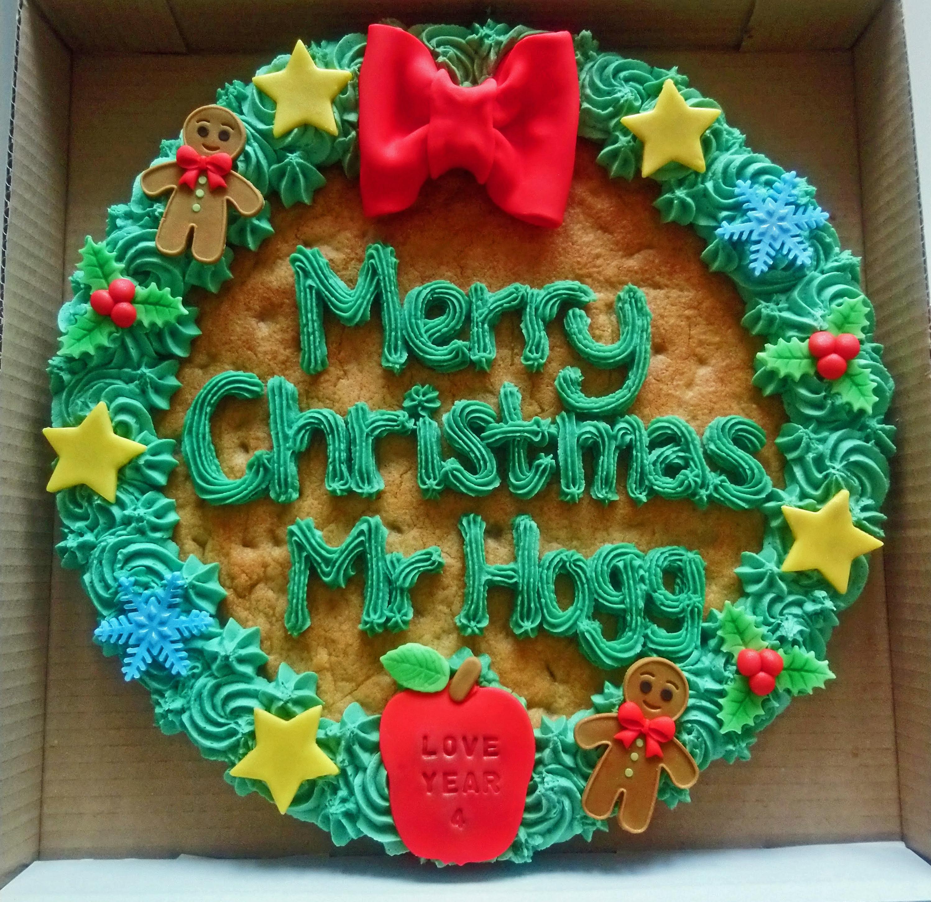 Christmas Giant Cookie 1