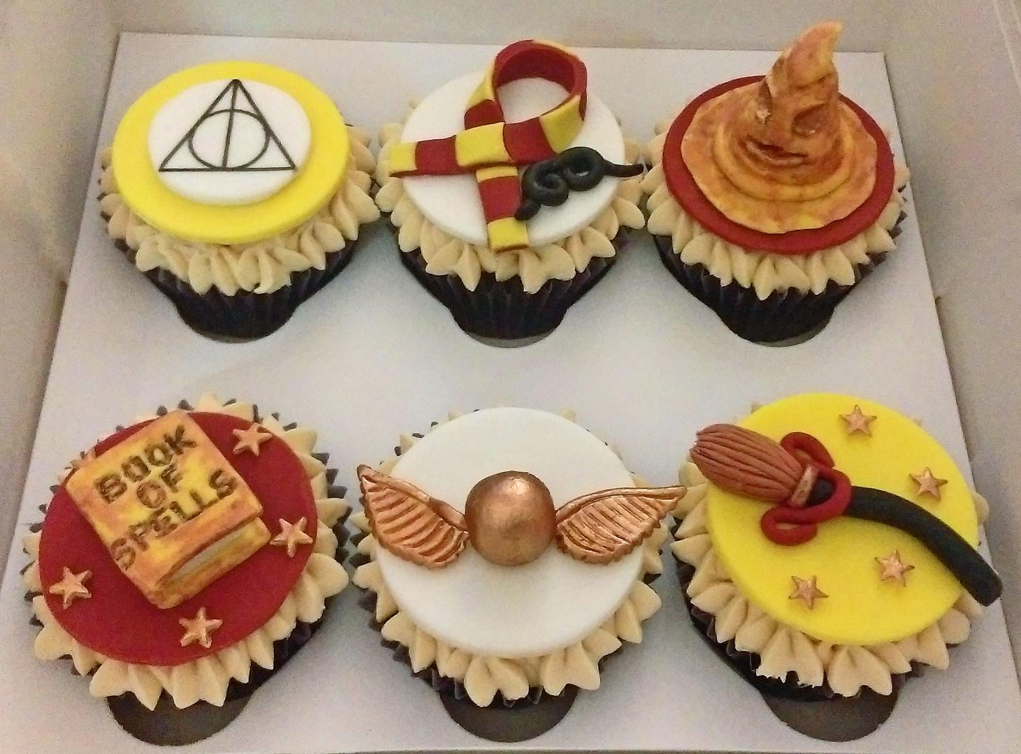 Harry Potter Birthday Cupcakes