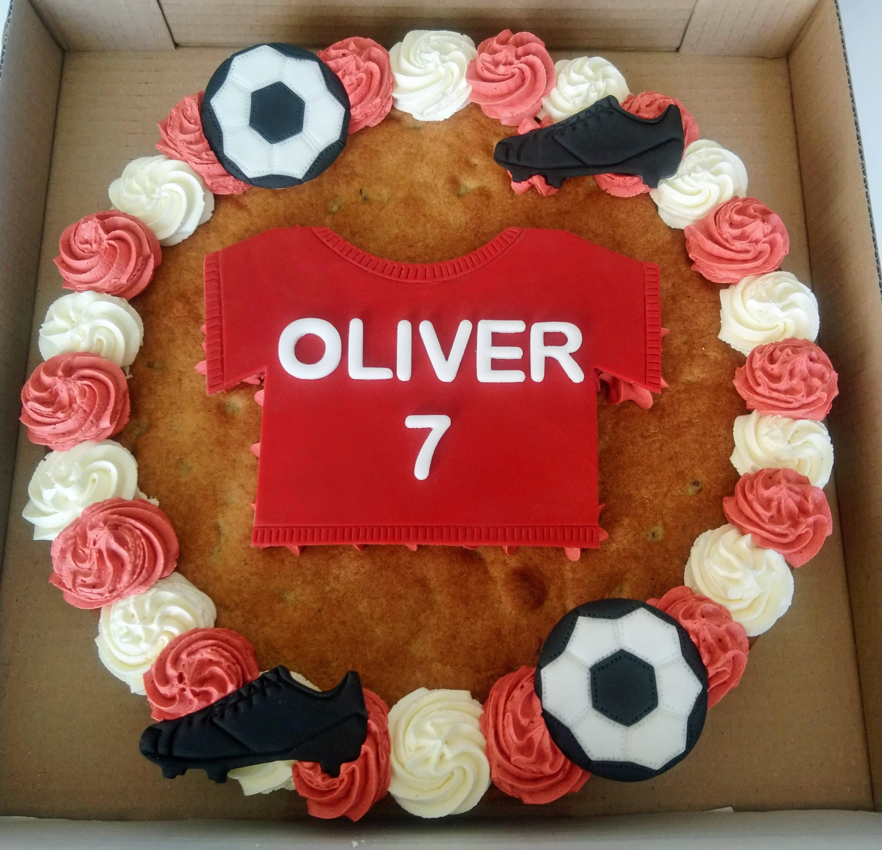 Football Giant Cookie
