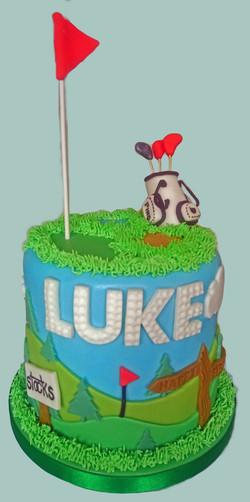 Golf Lover Cake
