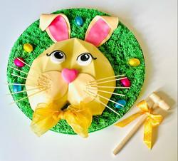 Giant Easter Bunny Smash Heart