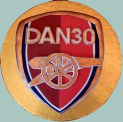Arsenal Shield Cake