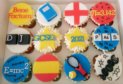 Congratulations on your GCSE's Cupcakes