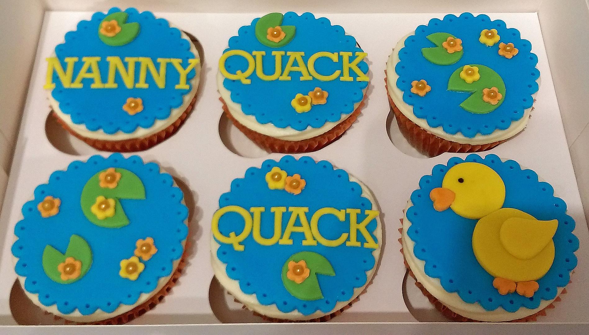 Quack Quack Duck Cupcakes