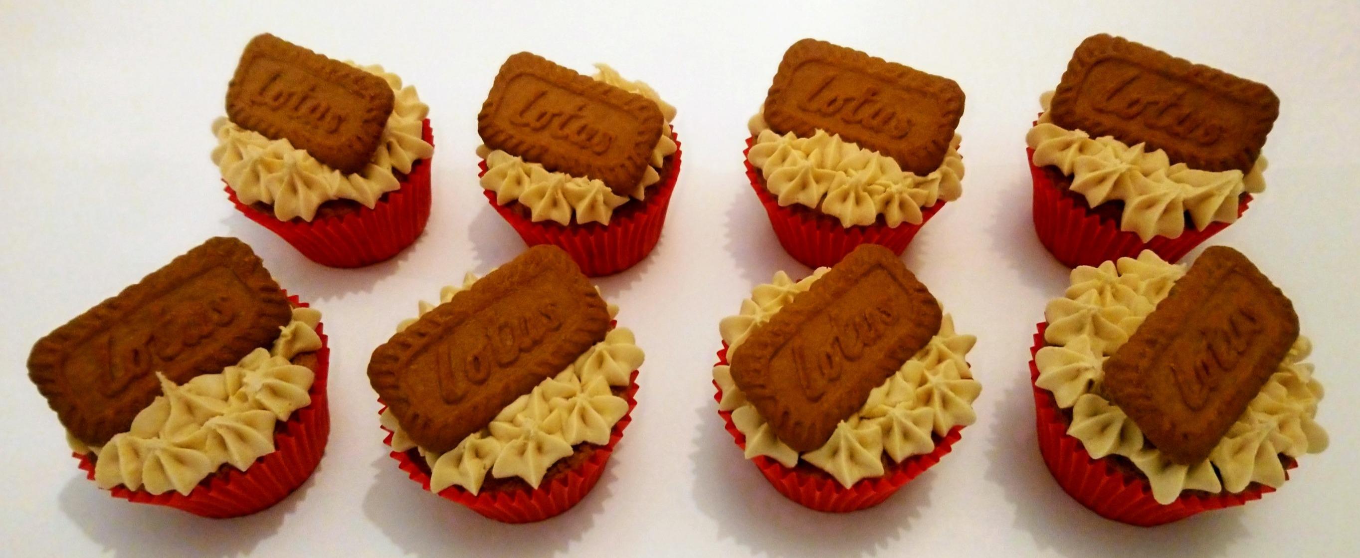 Lotus Biscoff Cupcakes