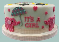 Female Baby Shower Cake