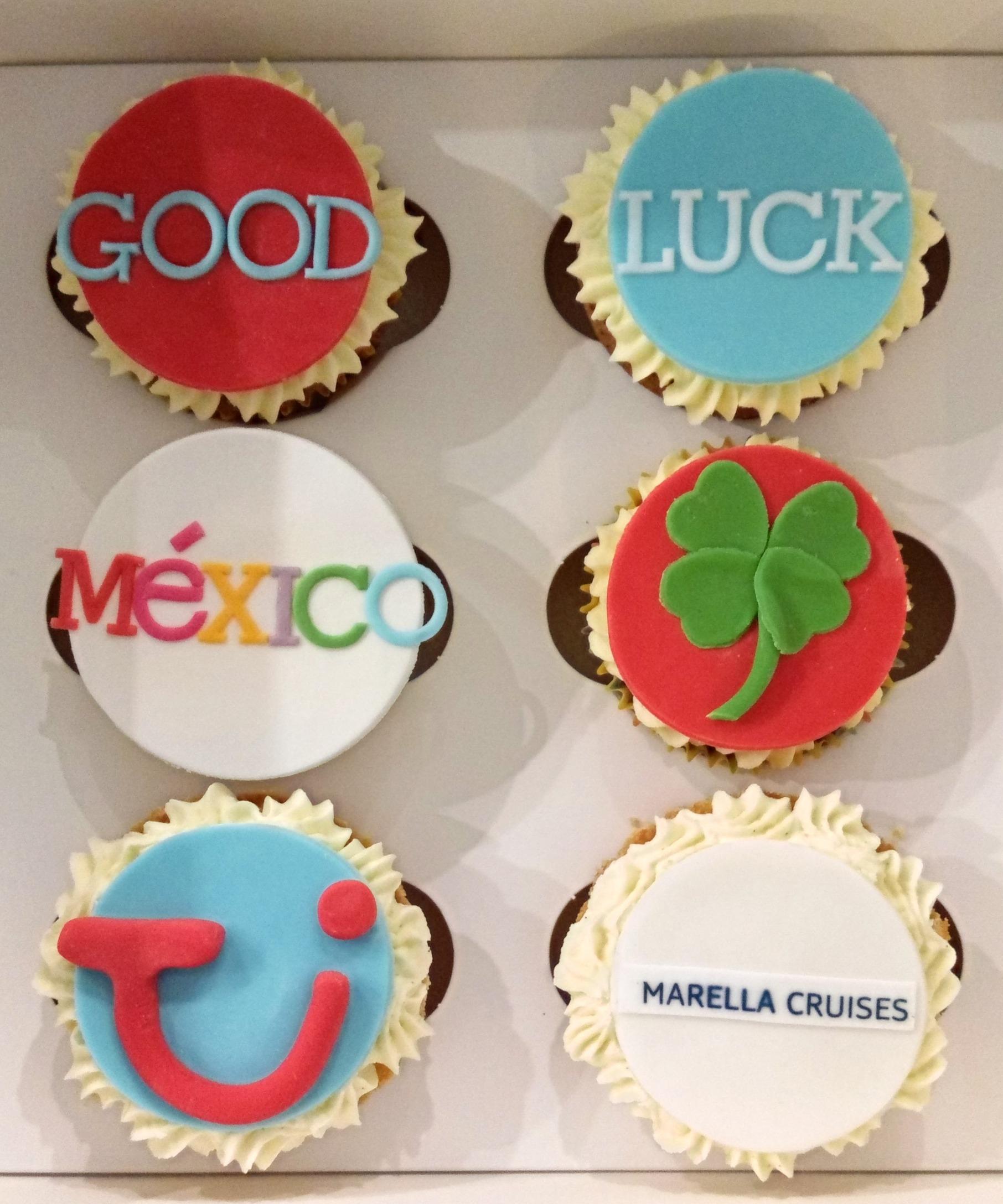 New Job Good Luck Cupcakes