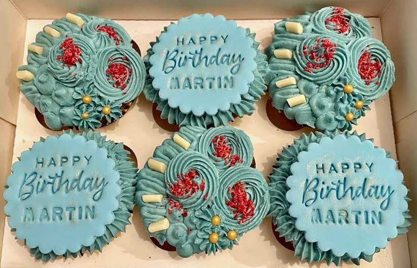 Male Birthday Cupcakes