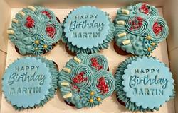Male Birthday Cupcakes
