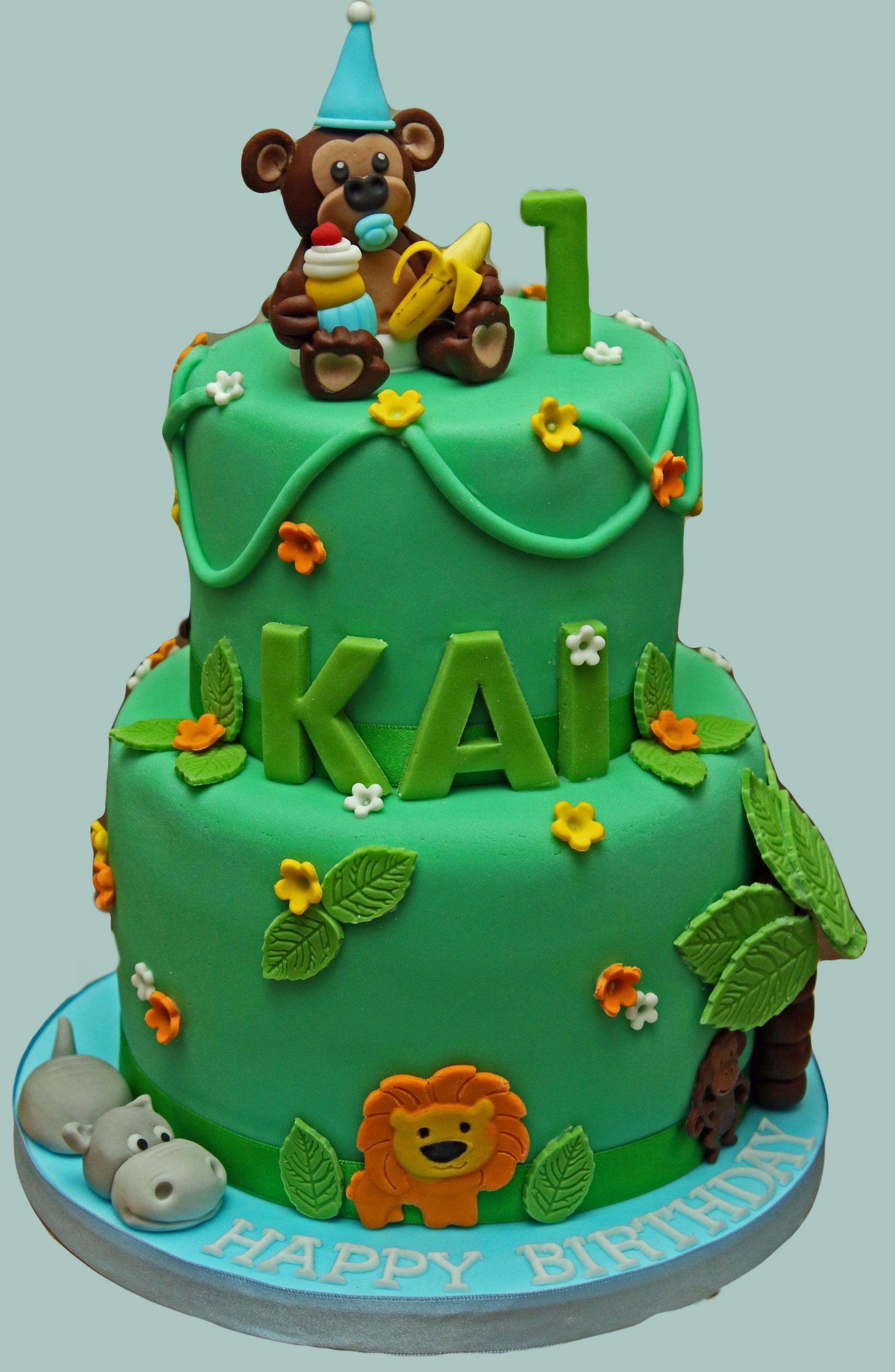 Male Jungle Cake