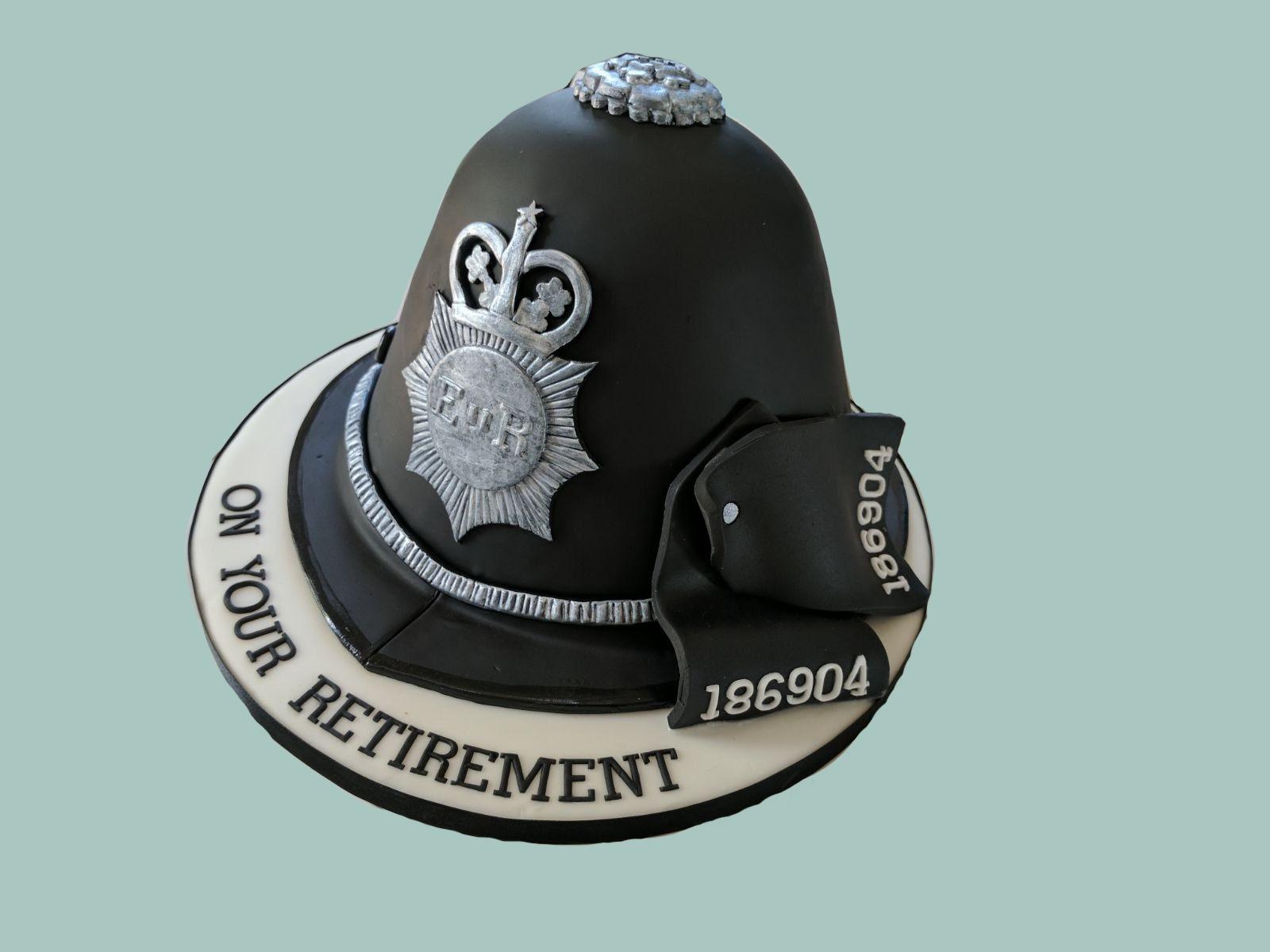 Police Retirement Cake