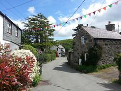 The beautiful village of Rowen