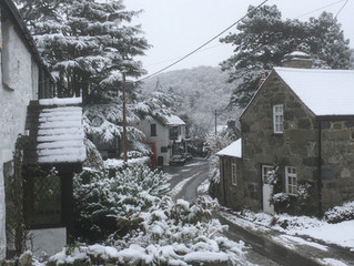 Snow in Rowen