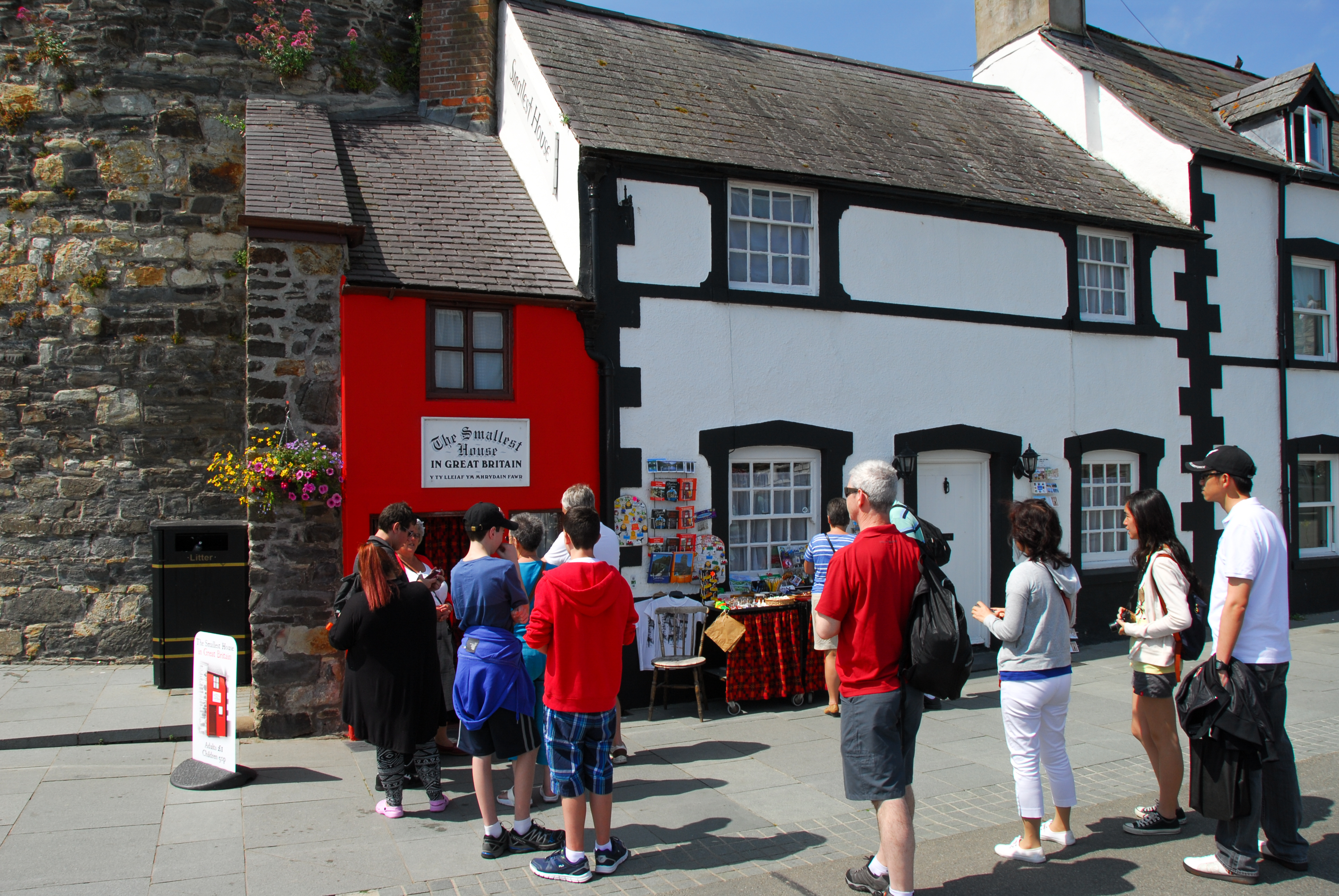 The smallest house in Conwy