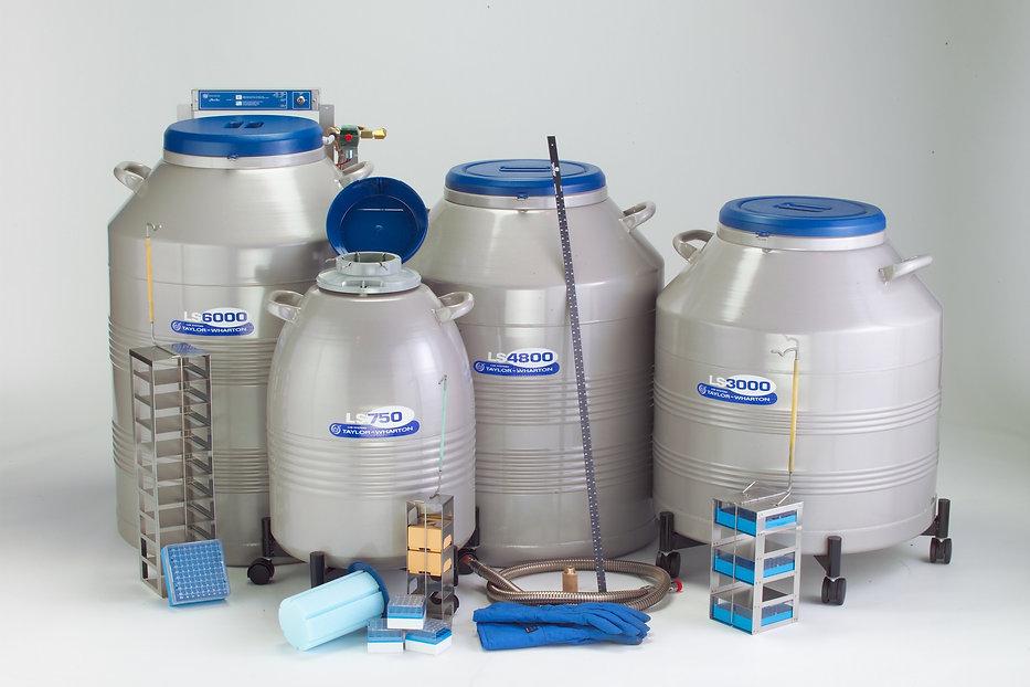 Taylor-Wharton社,液体窒素容器,凍結試料保存用 ,BOXラック式,生物試料保存用,LSシリーズ