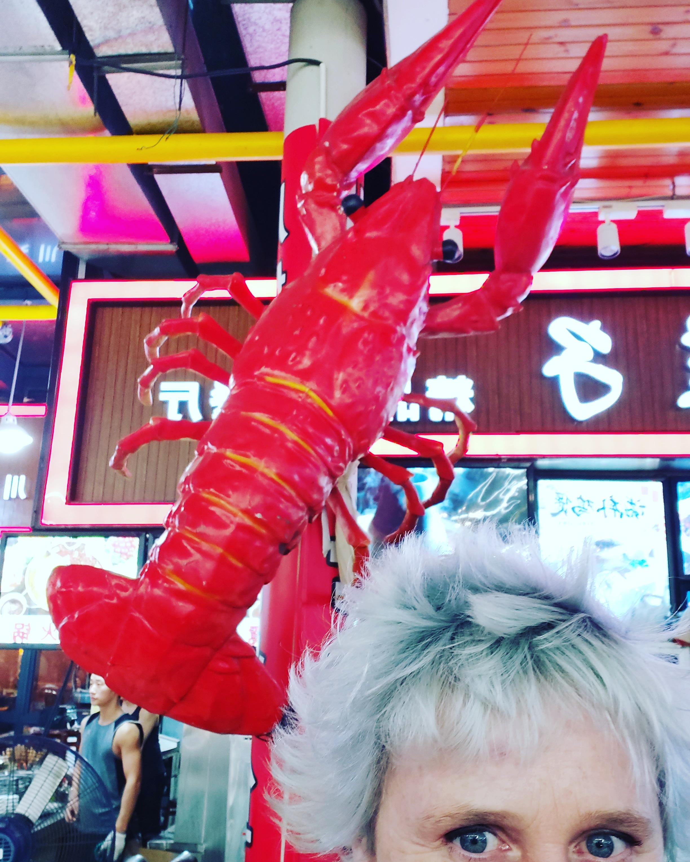 Selfie de Chine
