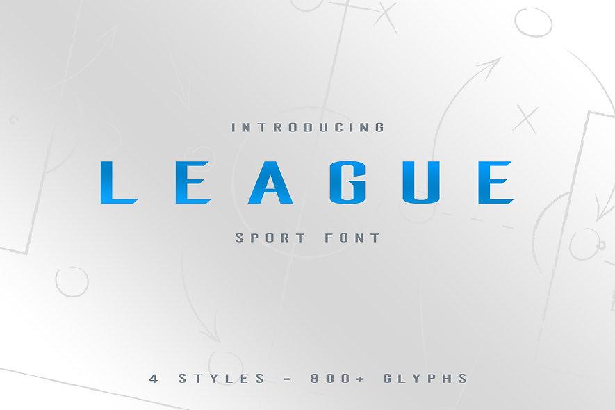 League Typeface