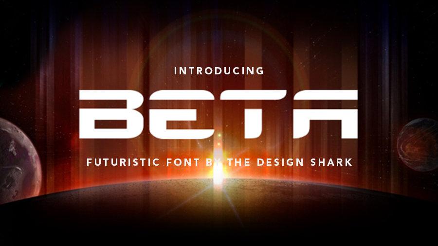 Beta Typeface