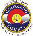 Colorado Supreme Court Pro Bono Commitment Logo