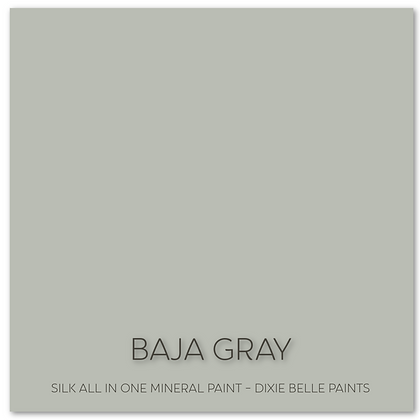 Dixie Belle Silk All-In-One Paint 16oz -Baja Gray