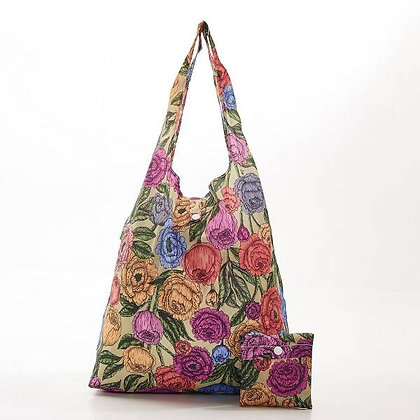 Eco Chic Foldable Bag - Peony