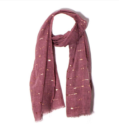 Hearts and arrows scarf