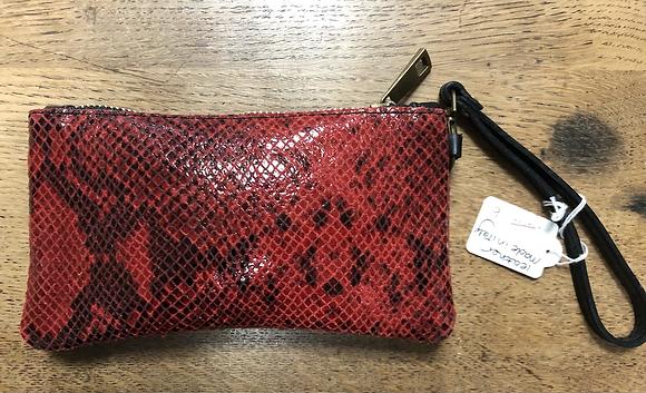 Leather purse/mini clutch