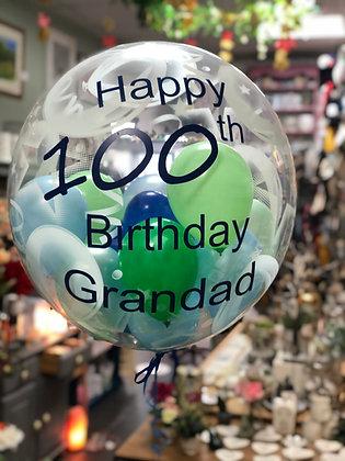 Gumball Personalised Balloon