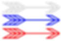 Free clipart arrows red white blue.