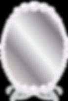Free clipart pearl mirror frame.