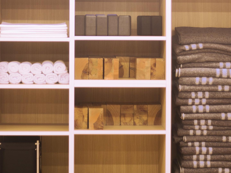 Yoga Supply Wall