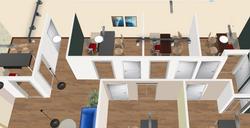 Office Design Render 20