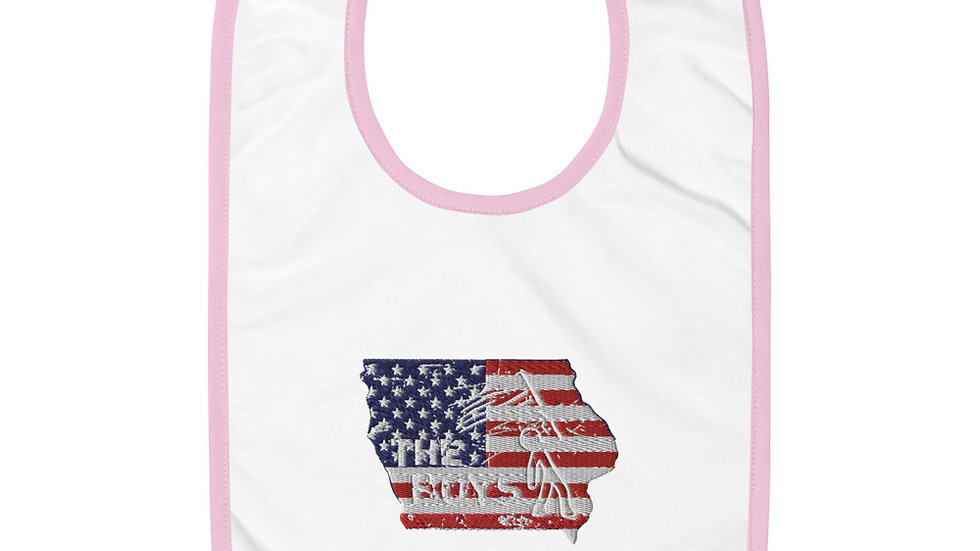 The Boys Baby Bib