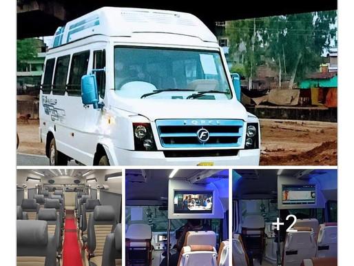 Patna Deoghar Tarapith - 18str Tempo Traveller Rental