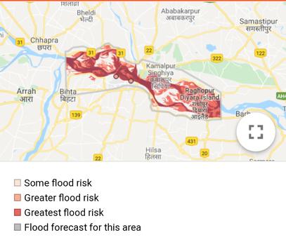 Severe Flood Situation for Ganga at Patna (Gandhighat)Active for next 2 hours