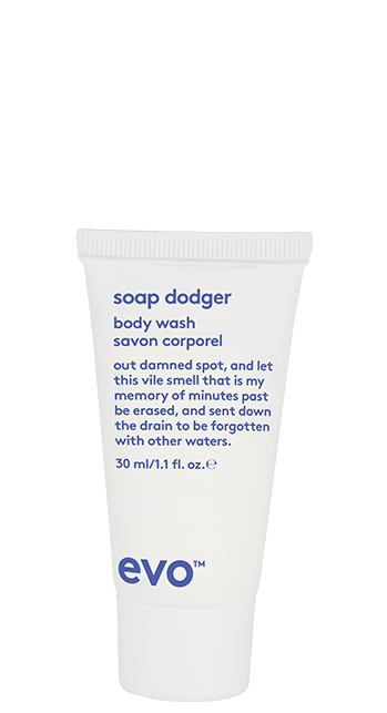 Evo Soap Dodger Body Wash - 30ml Travel Size