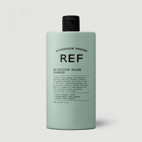 REF Weightless Volume Shampoo - 285ml