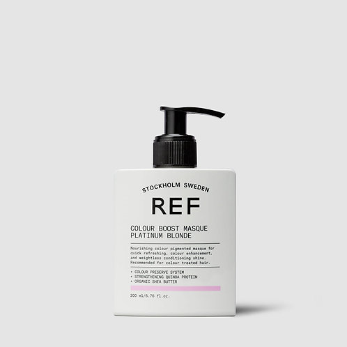 REF Colour Boost Masque - Platinum Blonde