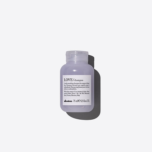 Davines Love Smooth Shampoo - 75ml Travel Size