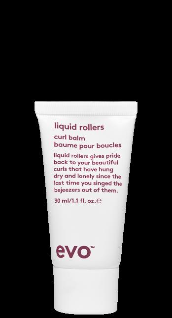 Evo Liquid Rollers Curl Balm - 30ml Travel Size